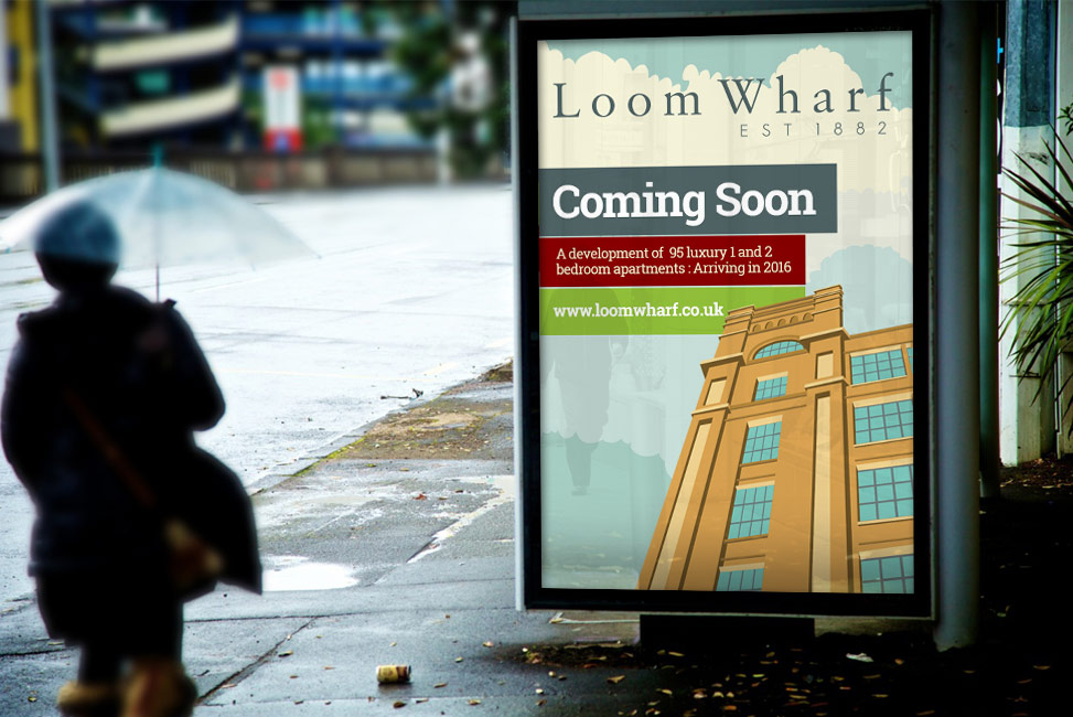 loom wharf, property development marketing