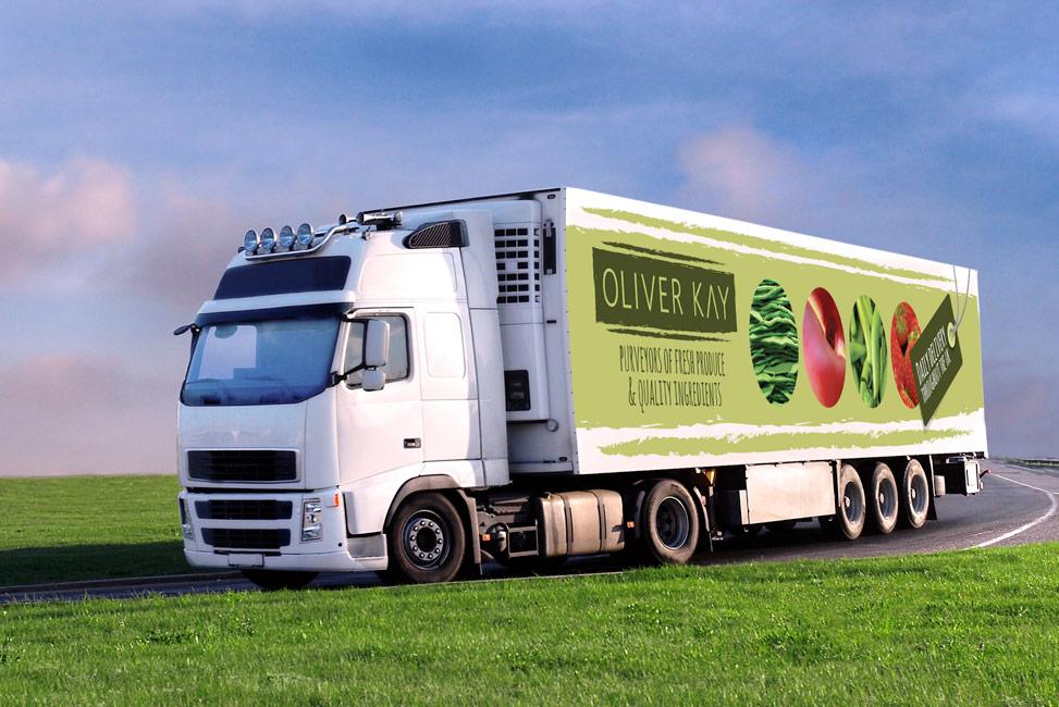 truck livery design