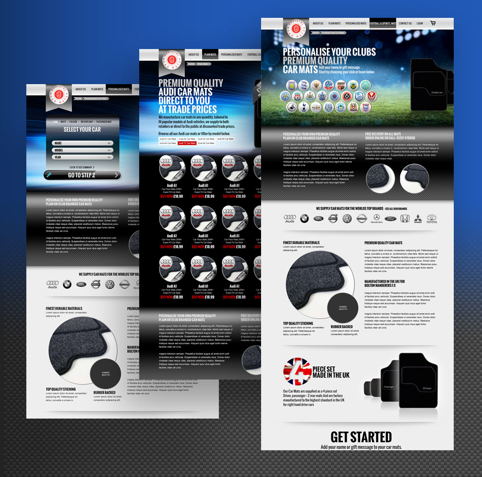 auto website design, website marketing